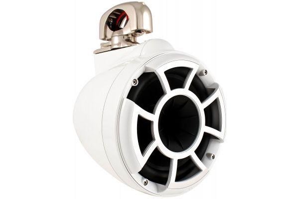 """Large image of Wet Sounds 8"""" Revolution Swivel White Speaker - REV8WSC"""