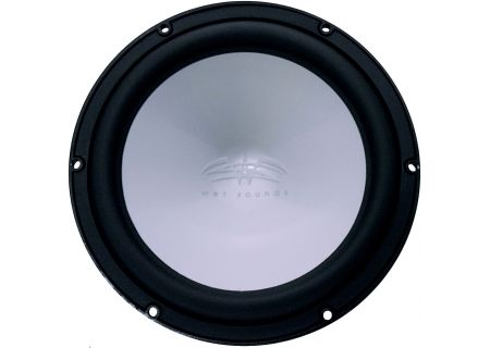"Wet Sounds Revo 12 Black 12"" Single 4-Ohm Marine Subwoofer - REVO 12 FA S4-B"