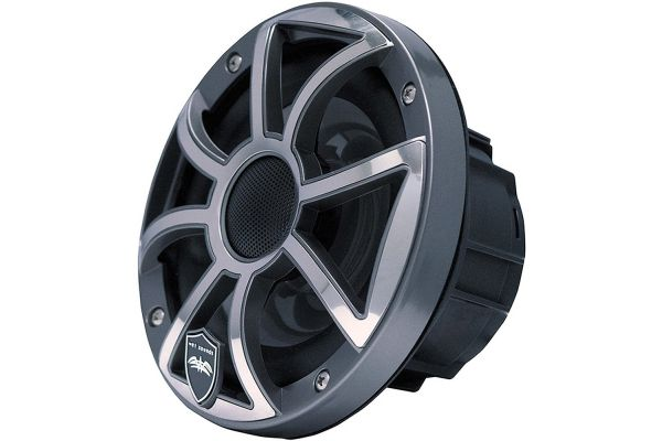 "Large image of Wet Sounds REVO 6 Gunmetal 6.5"" 2-Way Marine Speakers - REVO 6-XSG-SS"