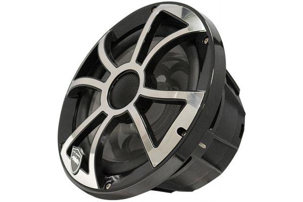 "Large image of Wet Sounds REVO 8 Black 8"" 2-Way Marine Speakers - REVO 8-XSB-SS"