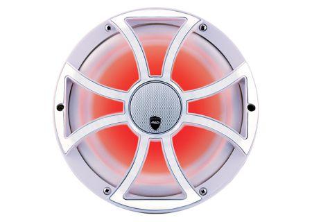 """Wet Sounds REVO 10CX White Stainless Steel 10"""" Coaxial 2-Way Marine Speaker - REVO CX-10 XS-W-SS"""