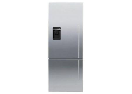 Fisher & Paykel ActiveSmart Stainless Steel Counter Depth Bottom Freezer Refrigerator - RF135BDLUX4