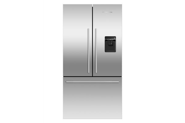 Large image of Fisher & Paykel 17 Cu. Ft. Stainless Steel Counter Depth French Door Bottom Freezer Refrigerator - RF170ADUSX4N