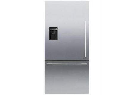 Fisher & Paykel 17 Cu. Ft. Stainless Steel ActiveSmart Counter Depth Bottom Freezer Refrigerator  - RF170WDLUX5