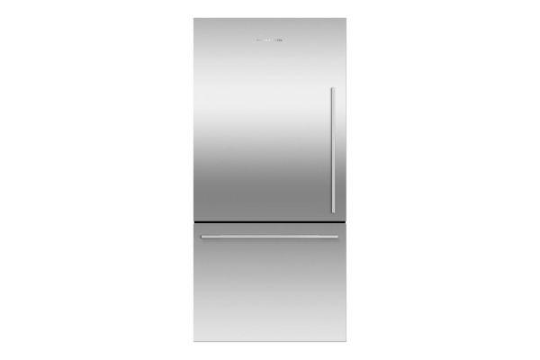 Fisher & Paykel 17.1 Cu. Ft. Stainless Steel ActiveSmart Counter Depth Bottom Freezer Refrigerator - RF170WDLX5N