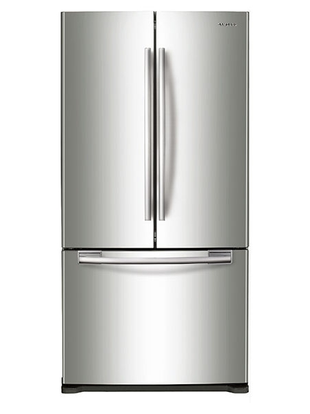 Samsung stainless french door refrigerator rf18hfenbsr aa for Abt appliances
