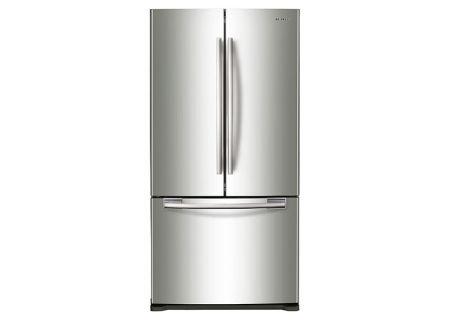 Samsung 20 Cu. Ft. Stainless Steel French Door Bottom Freezer Refrigerator  - RF20HFENBSR
