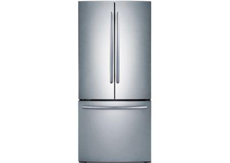 Samsung 22 Cu Ft Stainless Steel Bottom Freezer Refrigerator - RF220NCTASR