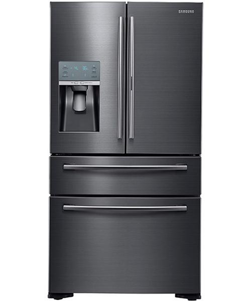 Samsung Black Stainless Refrigerator Rf22kredbsg