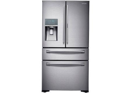 Samsung Counter Stainless Refrigerator Rf22kredbsr