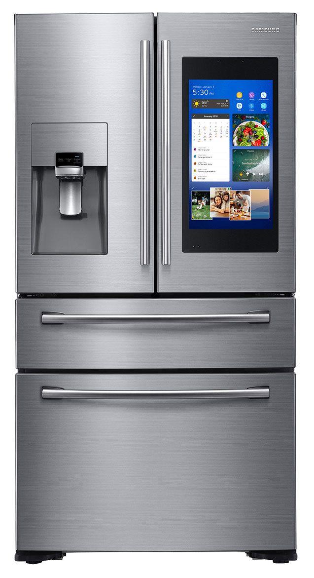 Samsung Counter 4 Door French Door Refrigerator With Family Hub R