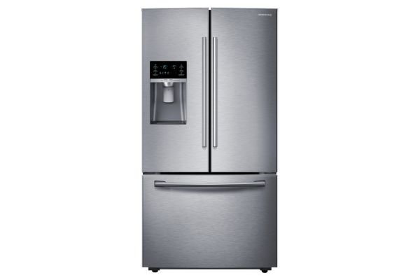 Samsung Counter Depth Stainless Steel French Door Bottom Freezer Refrigerator - RF23HCEDBSR