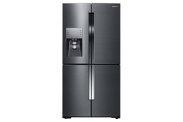Samsung Fingerprint Resistant Black Stainless Steel Bottom Freezer Refrigerator - RF23J9011SG/AA