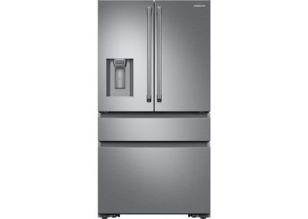 Samsung Stainless Steel Counter-Depth 4-Door Refrigerator - RF23M8090SR