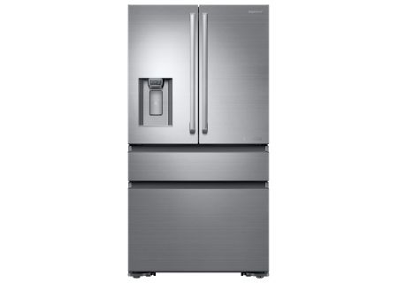 """Samsung 36"""" Freestanding Chef Collection French Door Stainless Steel Refrigerator - RF23M8960S4"""