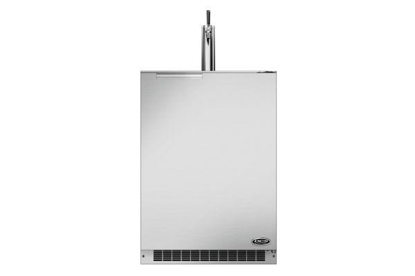 "Fisher & Paykel 24"" Stainless Steel Single Tap Outdoor Beer Dispenser - RF24TR1"