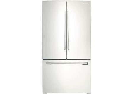 Samsung - RF261BEAEWW - French Door Refrigerators