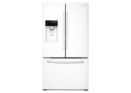 Samsung - RF28HDEDPWW - French Door Refrigerators