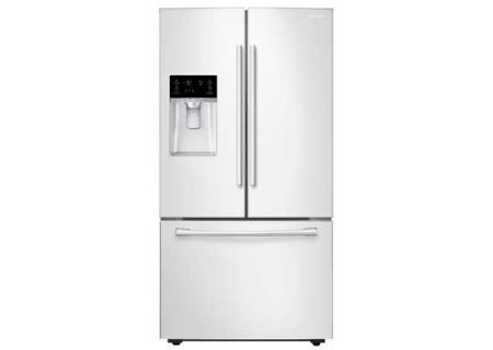 Samsung 28 CuFt French Door Bottom Freezer Refrigerator  - RF28HFEDBWW