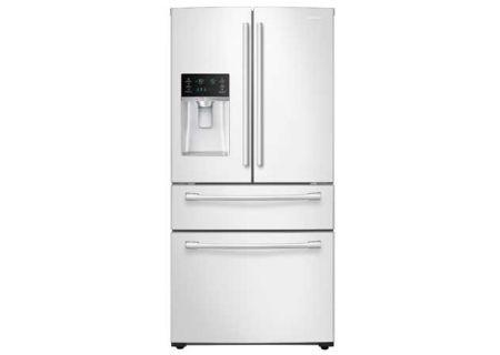 Samsung - RF28HMEDBWW - French Door Refrigerators