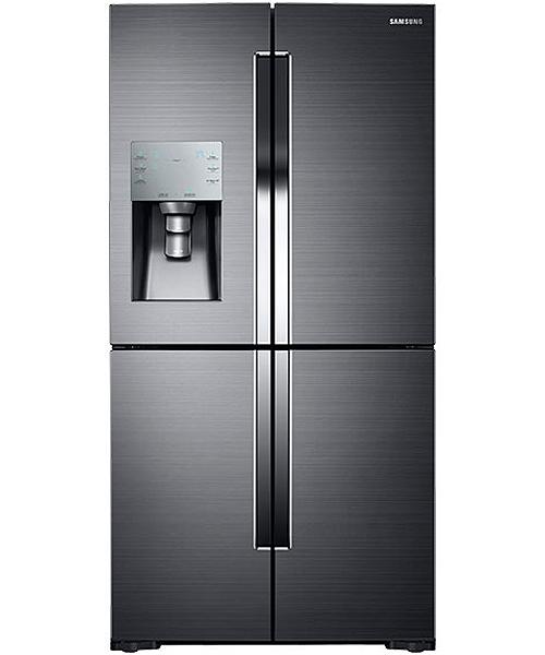 Samsung Black Stainless 4 Door Refrigerator Rf28k9070sg