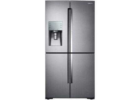 Samsung Stainless Steel 4-Door Flex Refrigerator - RF28K9380SR