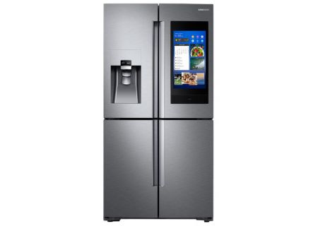 Samsung 28 Cu. Ft. Stainless Steel 4-Door Flex  French Door Refrigerator With Family Hub - RF28N9780SR