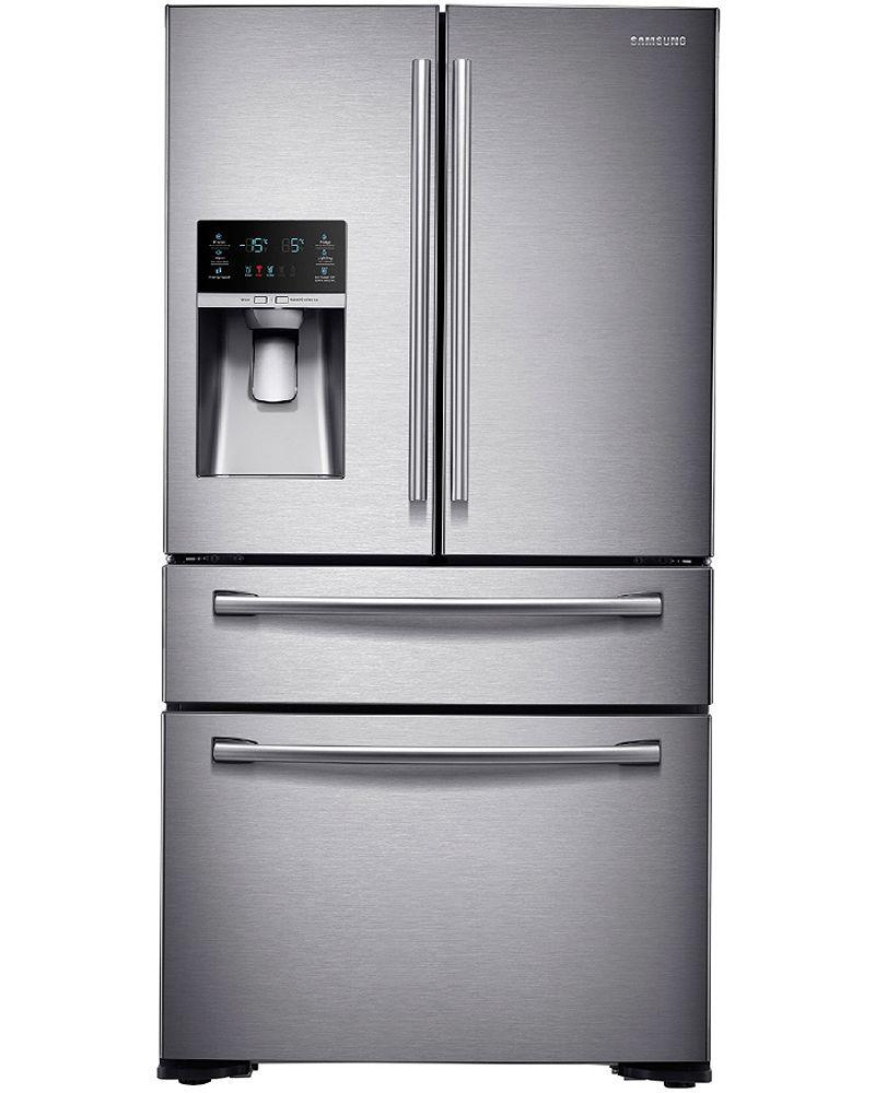 Samsung stainless french door refrigerator rf30kmedbsraa samsung rf30kmedbsr french door refrigerators rubansaba