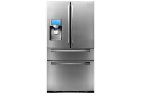 Samsung 28 Cu Ft Stainless Steel French Door Bottom Freezer Refrigerator - RF4289HARS