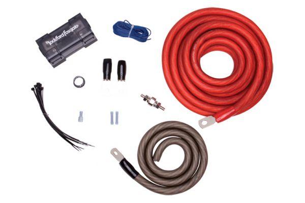 Rockford Fosgate 1/0 Power Installation Kit - RFK1