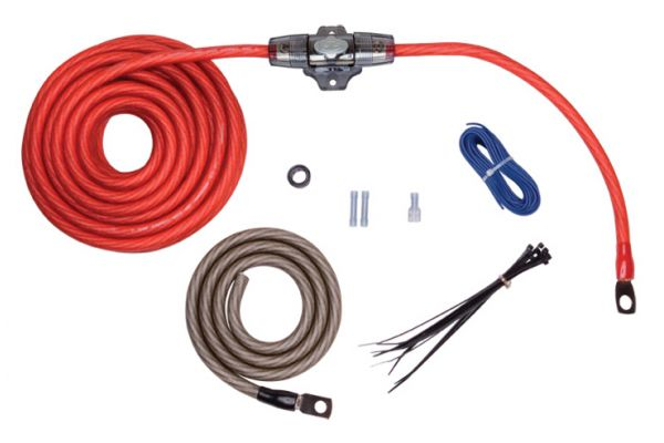 Large image of Rockford Fosgate 4 AWG Power Installation Kit - RFK4