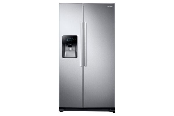 Large image of Samsung Stainless Steel Side-By-Side Refrigerator - RH25H5611SR/AA