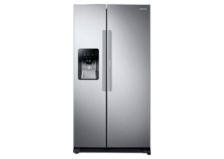 Samsung Stainless Steel Side-By-Side Refrigerator - RH25H5611SR