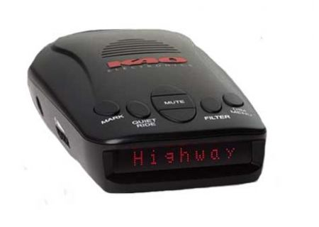 K40 All-Band Radar and Laser Detector With GPS Technology - RLS2