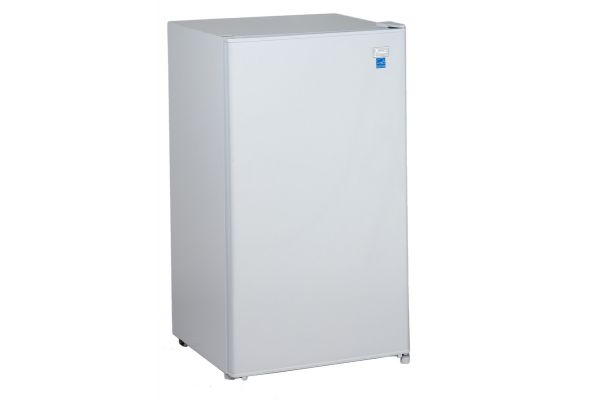 Large image of Avanti 3.3 Cu. Ft. White Refrigerator With Chiller Compartment - RM3306W
