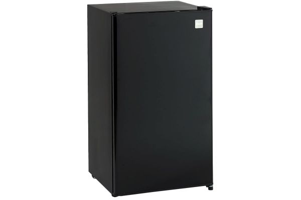 Large image of Avanti 3.3 Cu. Ft. Black Refrigerator With Chiller Compartment - RM3316B