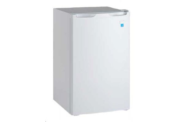 Large image of Avanti 4.4 Cu. Ft. White Counterhigh Refrigerator - RM4406W