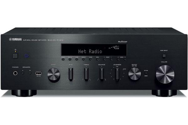 Large image of Yamaha Black 2 Channel Network Hi-Fi Receiver - R-N602BL