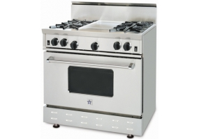 BlueStar - RNB364GV1 - Free Standing Gas Ranges & Stoves