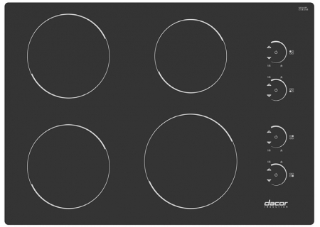 Dacor - RNCT304B - Induction Cooktops