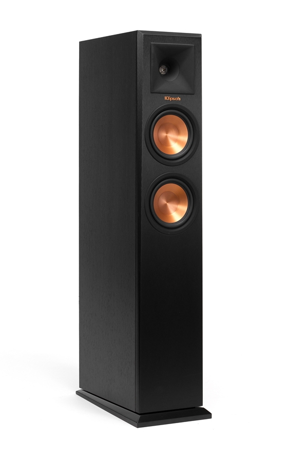 Klipsch Rp 250f Ebony Floorstanding Speaker Rp 250febony