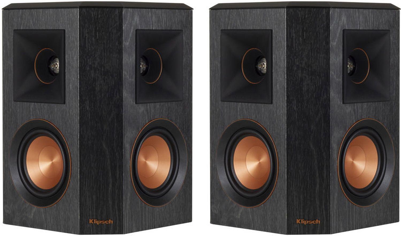 Klipsch Surround Sound >> Klipsch Ebony Surround Speakers 1065826