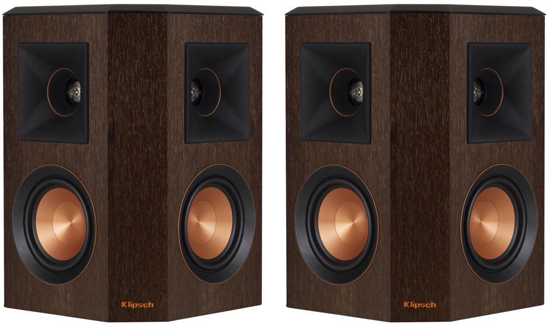 Klipsch Reference Premiere Walnut Surround Speakers (Pair)