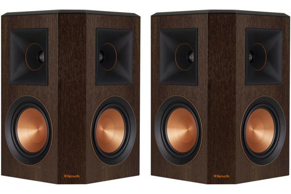 Large image of Klipsch Reference Premiere Walnut Surround Speakers (Pair) - 1065824