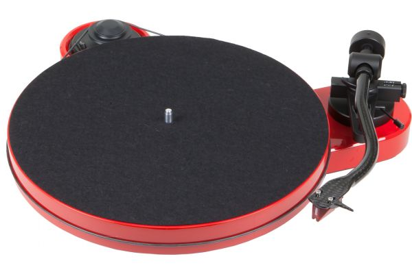 Large image of Pro-Ject RPM 1 Carbon Red Turntable - RPM1CARBONRED