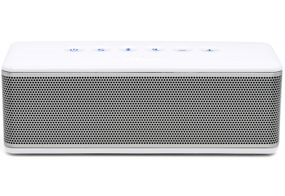 RIVA S White/Silver Portable Bluetooth Mobile Speaker - RS01S