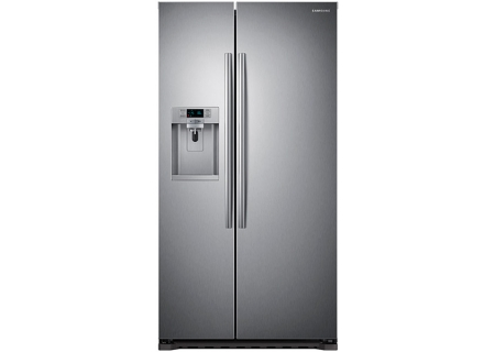 Samsung Stainless Side By Side Refrigerator Rs22hdhpnsr