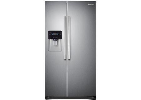 Samsung - RS25H5000SR - Side-by-Side Refrigerators