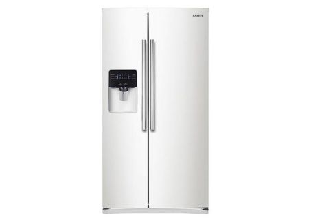 Samsung - RS25H5000WW - Side-by-Side Refrigerators
