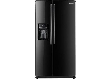 Samsung - RS261MDBP - Side-by-Side Refrigerators